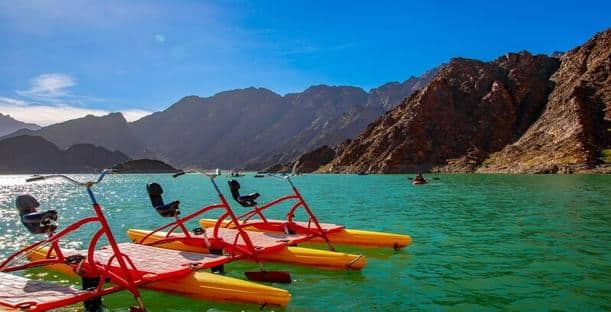 Hatta Lake Dubai